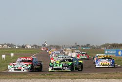 Juan Pablo Gianini, JPG Racing, Ford; Mauro Giallombardo, Maquin Parts Racing, Ford, und Mauricio La