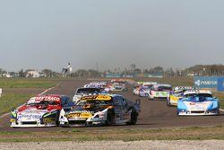 Juan Martin Trucco,JMT道奇车队,和Leonel Pernia, Las Toscas雪佛兰车队,和Federico Alonso, Taco Competicion Torino