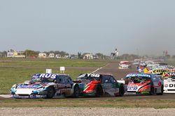 Gabriel Ponce de Leon, Ponce de Leon Competicion, Ford; Jose Manuel Urcera, JP Racing, Torino, und G