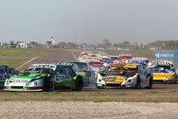 Juan de Benedictis, Alifraco Sport Ford e Leonel Pernia, Las Toscas Racing Chevrolet