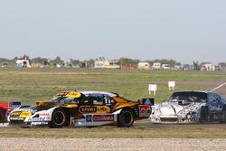 Leonel Pernia, Las Toscas Racing, Chevrolet, und Laureano Campanera, Donto Racing, Chevrolet