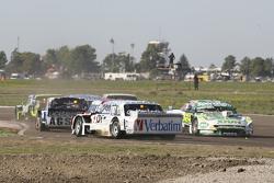 Leonel Sotro, Alifraco Sport, Ford, und Emiliano Spataro, UR Racing, Dodge, umgedreht