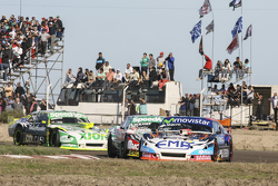 Christian Ledesma, Jet Racing, Chevrolet; Facundo Ardusso, Trotta Competicion, Dodge, und Agustin Canapino, Jet Racing, Chevrolet