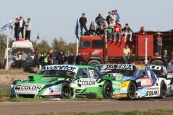 Juan de Benedictis, Alifraco Sport Ford and Luis Jose di Palma, Indecar Racing Torino