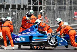 Antonio Felix da Costa, Amlin Aguri in trouble