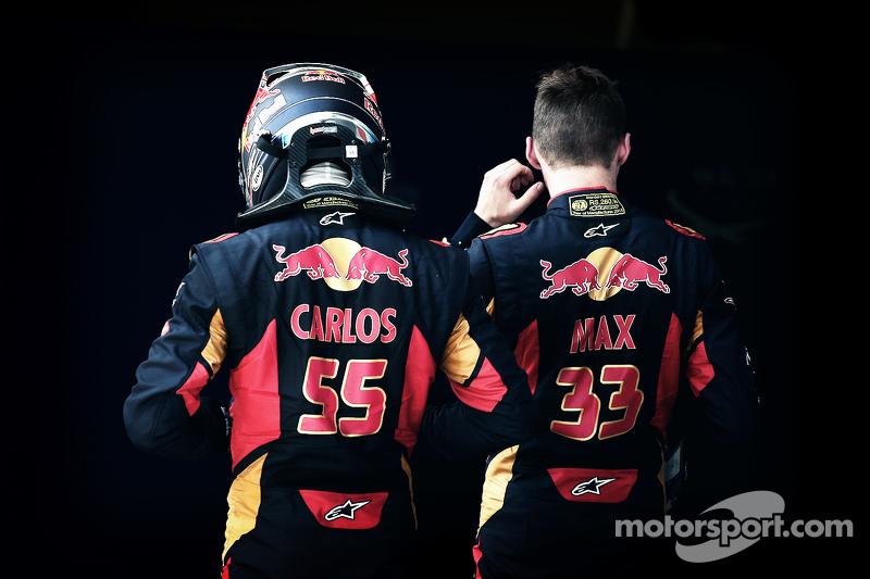 2015, Toro Rosso: Max Verstappen en Carlos Sainz