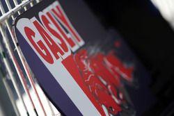 Pierre Gasly, Scuderia Toro Rosso Test Pilotu için pit tabelası