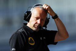 Mark Slade, ingeniero de carrera, Lotus F1 Team