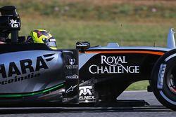 Nick Yelloly, Sahara Force India F1 VJM08, piloto de pruebas