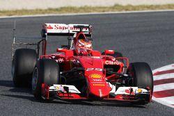 Raffaele Marciello, Ferrari SF15-T, piloto de pruebas haciendo un test