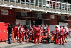 Raffaele Marciello, Ferrari SF15-T Test Pilotu pitte