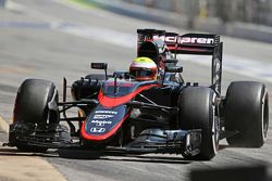 Oliver Turvey, McLaren MP4-30 piloto de teste