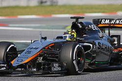 Nick Yelloly, Sahara Force India F1 VJM08 Piloto de pruebas