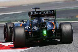 Ник Йеллоли, тестовый пилот Sahara Force India F1 VJM08