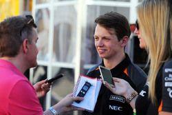 Nick Yelloly, Sahara Force India F1 Piloto de pruebas con los medios
