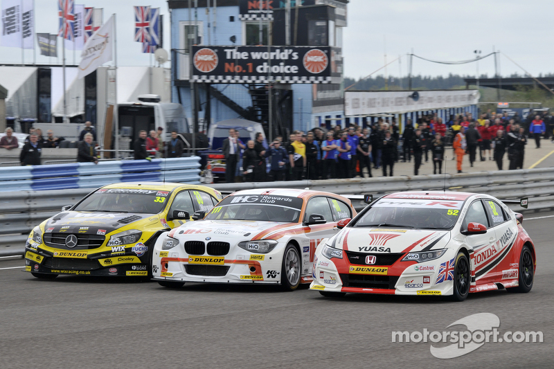 Adam Morgan, Andy Priaulx e Gordon Shedden