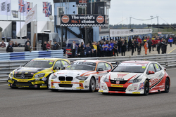 Adam Morgan, Andy Priaulx en Gordon Shedden