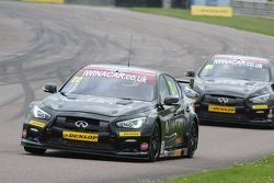 Derek Palmer, Infiniti Support our Paras Racing