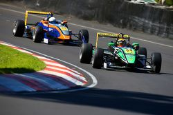 Australian F3 race action from Adelaide