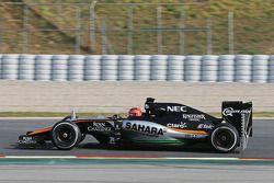 Эстебан Окон, Sahara Force India F1 VJM08