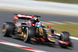 Jolyon Palmer, Lotus F1 E23 Piloto de pruebas y de reserva