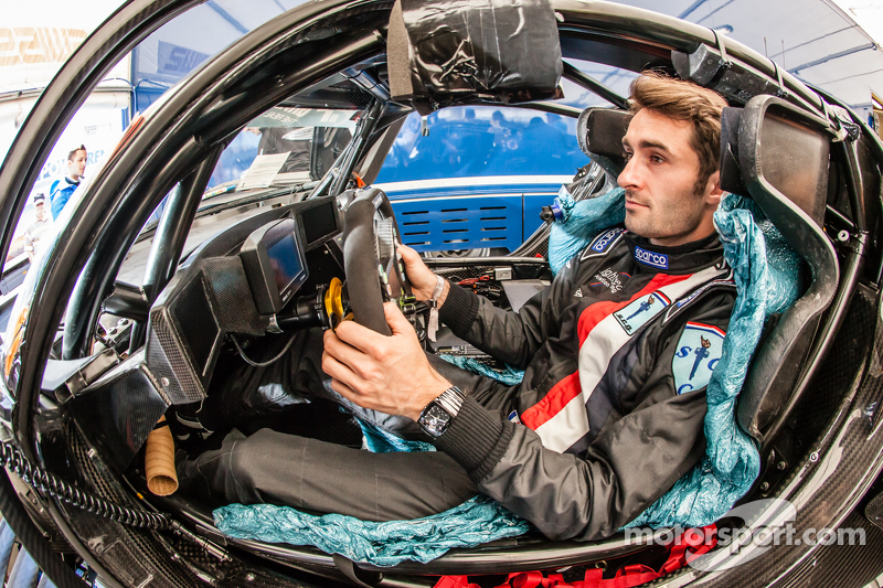 Seat fitting for Franck Mailleux