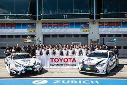 Gazoo Racing, Fotoshooting: #53 Gazoo Racing, Lexus LFA Code X: Masahiko Kageyama, Hiroaki Ishiura,