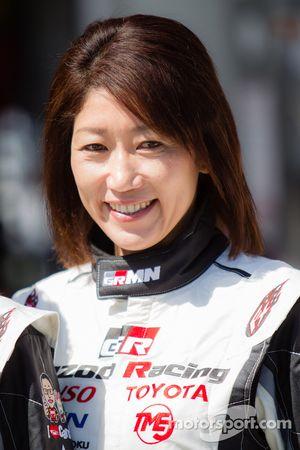Gazoo Racing photoshoot: Kumi Sato