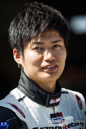 Gazoo Racing photoshoot: Kazuya Oshima