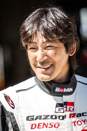 Gazoo Racing photoshoot: Masahiko Kageyama