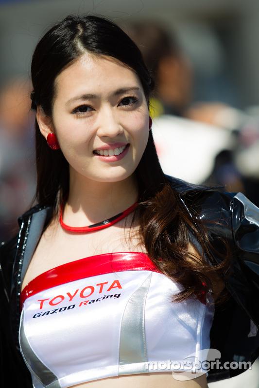 Ein bezauberndesGazoo-Racing-Girl