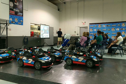 Go Baby Go: Sponsorenveranstaltung bei Tommy Baldwin Racing