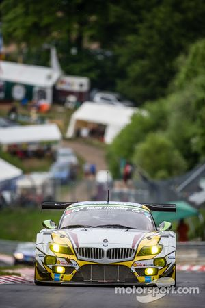 #26 Marc VDS Racing,宝马Z4 GT3: Augusto Farfus, Jörg Müller, Nicky Catsburg, Dirk Adorf