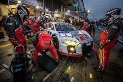 #1 菲尼克斯赛车,奥迪R8 LMS: Christopher Haase, Christian Mamerow, René Rast, Markus Winkelhock