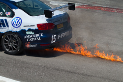 #15 HPA Motorsports Volkswagen Jetta GL1: Jeff Altenburg in trouble
