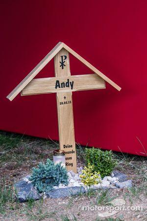 """Flugplatz纪念馆,铭记""""Andy"""""""
