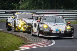 #10 Team Manthey Porsche 911 GT3 RSR: Georg Weiss, Oliver Kainz, Jochen Krumbach, Richard Lietz and