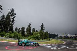 #5 黑鹰梅赛德斯-奔驰SLS AMG GT3: Abdulaziz Al Faisal, Hubert Haupt, Yelmer Buurman, Jaap van Lagen
