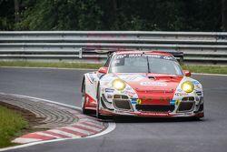 #30 Frikadelli Racing,保时捷997 GT3 R: Sabine Schmitz, Patrick Huisman, Patrick Pilet, Jörg Bergmeister