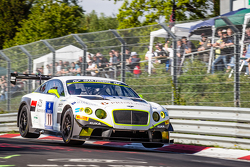 #11 Bentley Team HTP Bentley Continental GT3: Harold Primat, Christopher Brück, Clemens Schmid, Marc