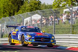 #33 Team Premio, Mercedes-Benz SLS AMG GT3: Rob Huff, Kenneth Heyer, Philipp Frommenwiler, Christian