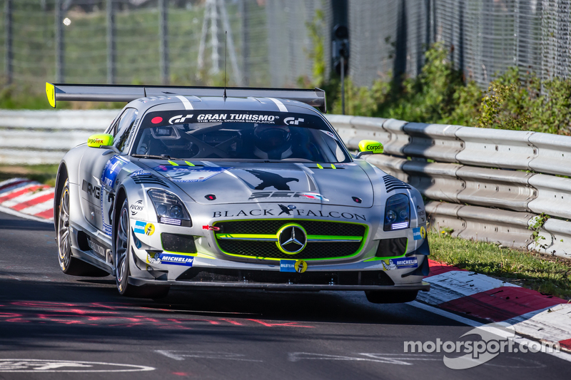 #2 Black Falcon, Mercedes-Benz SLS AMG GT3: Yelmer Buurman, Andreas Simonsen, Adam Christodoulou, Be