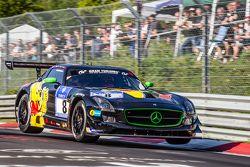 #8 Haribo Racing Mercedes-Benz SLS AMG GT3: Uwe Alzen, Marco Holzer, Norbert Siedler, Maximilian Götz