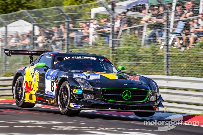 #8 Haribo Racing, Mercedes-Benz SLS AMG GT3: Uwe Alzen, Marco Holzer, Norbert Siedler, Maximilian Götz