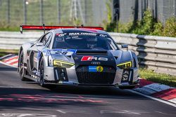 #28 Audi Sport Team WRT Audi R8 LMS : Christopher Mies, Edward Sandström, Nico Müller, Laurens Vanthoor