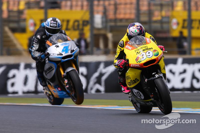 Luis Salom, Paginas Amarillas HP 40 e Randy Krummenacher, JiR Moto2