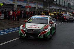 Tiago Monteiro, Honda Civic WTCC, Honda Racing Team JAS