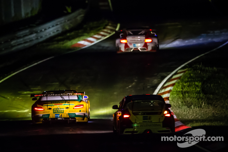 #31 Car Collection Motorsport, Mercedes-Benz SLS AMG GT3: Peter Schmidt, Alexander Mattschull, Pierr