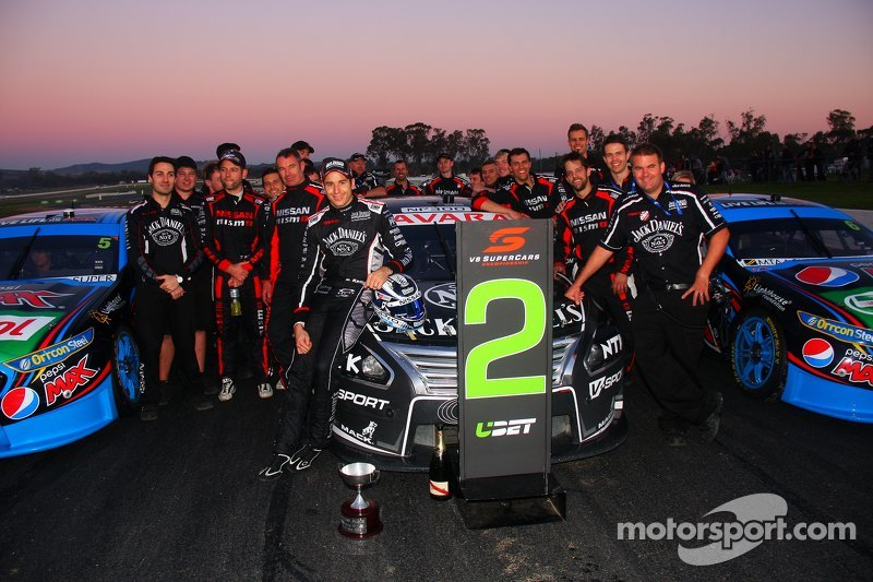 Peringkat kedua Rick Kelly, Nissan Motorsports