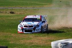 Dale Wood, Brad Jones Racing Holden off track